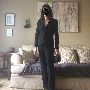 NWOT Sleek & Classy Brooks Brothers Black Pantsuit